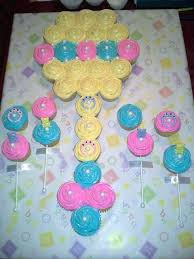 Cupcake Cakes For Baby Showers Ba Shower Cupcake Cake Ideas Boy