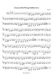 crazy little thing called love sheet music crazy little thing called love sheet music crazy little thing