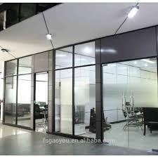 Office Partition Design 2019 New Office Partition Design Floor To Ceiling Office Single Glass Partition Wall Buy New Office Partition Design Office Single Glass Partition