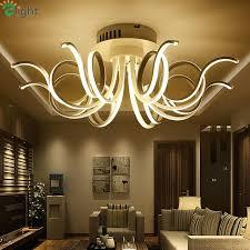 led chandelier modern aluminum bedroom led chandeliers lighting re acrylic living room room led ceiling chandelier lights led pendant track light