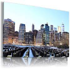NEW YORK CITY View Canvas Wall Art ...