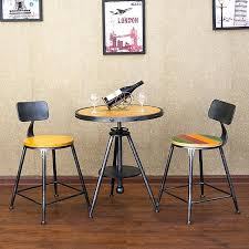small cafe table retro cafe tables and chairs old wrought iron balcony wood tea table small small cafe table