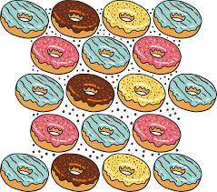 Donut Pattern Awesome Decorating Design