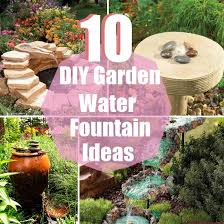diy small water feature ideas. 10 diy garden water fountain ideas | diycozyworld - home improvement and tips diy small feature a