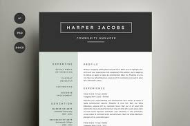 Free Creative Resume Template Stunning Free Creative Resume Templates Word Resume Badak