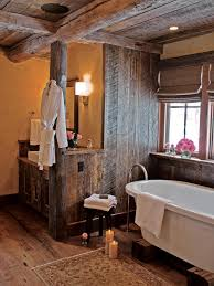 country bathroom designs 2013. Rustic Bathroom With Wood Ceiling And Walls Plus Soaking Tub Country Designs 2013 T