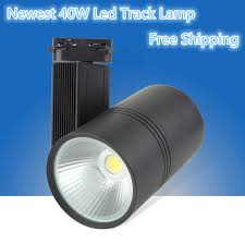 hot 40w cob led ceiling track rail light spotlight lamp display cabinet ac85 265v warm