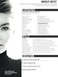Makeup Artist Resume Summary Professional Makeup Artist Resume
