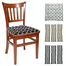 kitchen chair cusions. Kitchen Chair Pads With Ties And Set Of 4 Cotton Indoor Cusions C