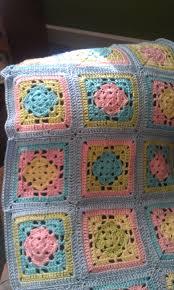 Spring Fling Granny Square Blanket | AllFreeCrochet.com &  Adamdwight.com