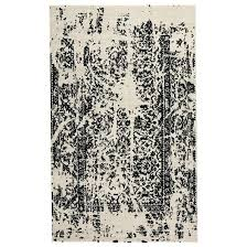 signature design by contemporary area rugs jag black white large rug ashley canada