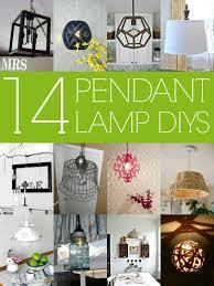 lighting diy. 14 Stylish DIY Pendant Lights (with Tutorials!) Via Remodelaholic.com #diy Lighting Diy