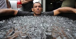 do ice baths improve recovery from