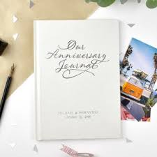 our anniversary journal keepsake personalised gifts couple gifts anniversary gift ideas anniversary gifts keepsakes