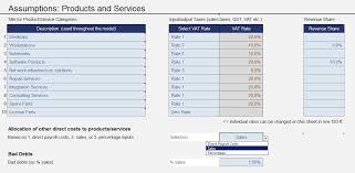 Financial Model Excel Spreadsheet Excel Financial Model Ce Screenshots Efm