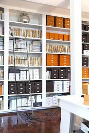 office space organization. View In Gallery Boxes And Binders A Beautifully Organized Office Space Home Organization Ideas Small F