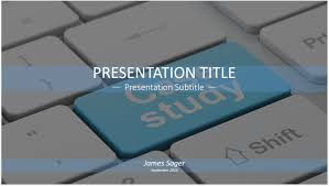 Case Study PowerPoint Template by SageFox