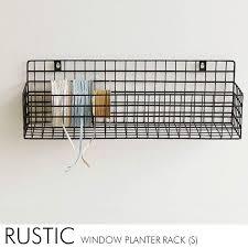 rustic window planter s plantar rack planters baskets iron basket wall mesh industrial rack