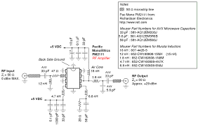cell phone jammer rf amplifier circuit diagram