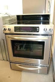 kitchen aid kess907sss kitchen aid electric range electric range inch 4 element freestanding range architect series