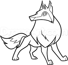 Small Picture Wolf Coloring Pages Animal Jam Arctic Wolf Coloring Pages Kids