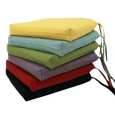 amazing chair pads with ties dining cushions com