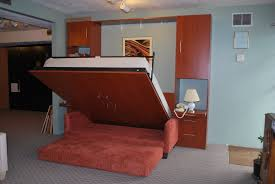 Hideaway Sofa Bedroom Bed With Pull Out Bed Underneath Be Equipped With Solid