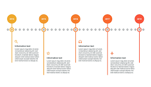Timeline On Ppt Horizontal Timeline Template Ppt Free Download Now