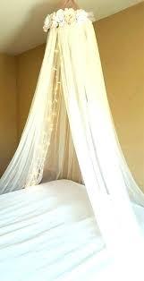 Bed Crown Canopy Shabby Rose Princess Heart Choices Baby Crib Ebay ...