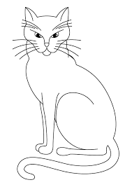 Small Picture Cat Coloring Pages Printable Black Cat Coloring Pages