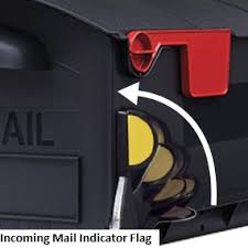 mailbox with mail indicator. Unique Mail Patriot Mailbox Incoming Mail Indicator Flag To With I