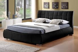 leather king bed.  King Limelight Dorado 5FT Kingsize Leather Bed  Black On King