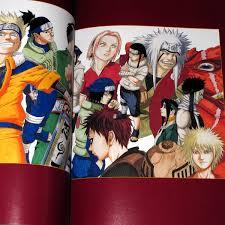 naruto uzumaki masashi kishimoto art book an ed
