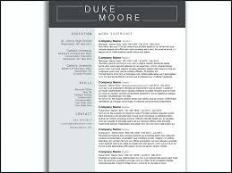 Best Resume Template Microsoft Word – Directory Resume