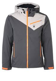 der enforcer ski jacket polar cirrus bryte orange men winter jackets