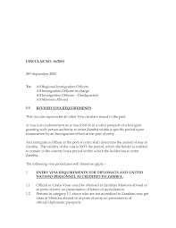 Ideas Of Cover Letter Sample For Business Visa Application About