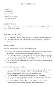 Innovative Ideas Sample Skills Based Resume How To Write A