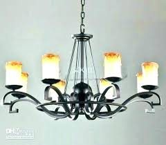 lighting attractive non electric chandeliers wonderful candle chandelier