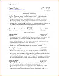 Australian Resume Examples Resumeample Hospitality Example Guest Management Templates 12
