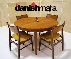 Danish Modern Dining Table Mid Century Danish Modern Teak Omann Dining Table Eames Danish Mafia