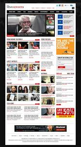 Newspaper Website Template Free Download 40 Free Professional Psd Website Templates For Download