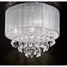silver ceiling lamp shades avenue lighting hf1501 silver beverly within decorations 5