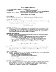 Purchase And Sale Agreement Template Understanding The 24 Fundamentals Of A BuySell Agreement Free 10