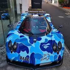 Where S The Pagani Bape Japan And Paganiautomobili Have Collaborated To Release A Limited Clothin Anniversary Celebration 20th Anniversary Product Launch