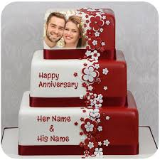 Name Photo On Anniversary Cake Photo Frame Apps On Google Play