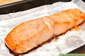 cooked salmon inside. Interesting Cooked Image Titled Cook Salmon Fillet Step 7 To Cooked Inside I