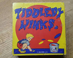 Image result for TIDDLY WINKS GAME 1950