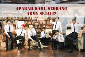 Ujian army disini yang admin maksud adalah bukan ujian seorang tentara melainkan ujian untuk para penggemar grup boyband korea yakin bts. Kuis Sejauh Mana Kamu Mengenali Bts Buktikan Di Sini Kpop Chart Blog