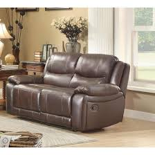 allenwood grain leather loveseat photo