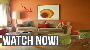 Choosing wall paint colors for living room - YouTube